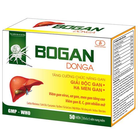 Bogan DongA, tăng cường chức năng gan