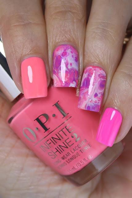 OPI Neon Fluid Nail Art