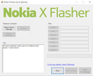 Nokia X Flasher free download