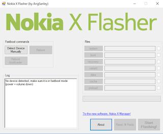 Nokia X Flasher