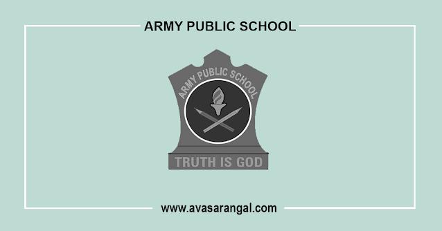 Army Public School Recruitment 2020│8000 Teacher Vacancy