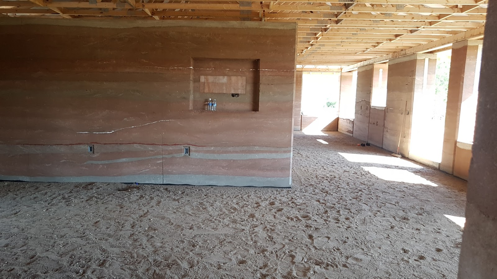 Rammed Earth Saskatchewan Canada