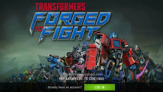 TRANSFORMERS: Forged to Fight v0.1.5 Apk + Data