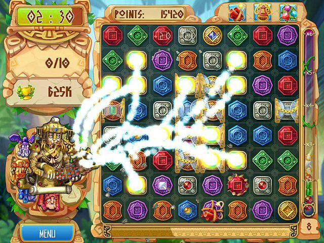 Screenshot The Treasures of Montezuma 5 Full Version