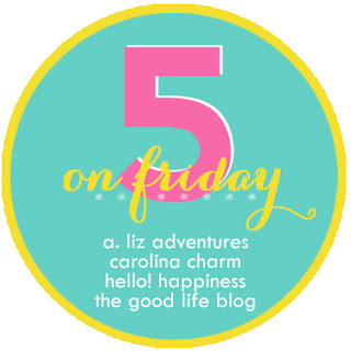 5 on Friday, Blog Link-up
