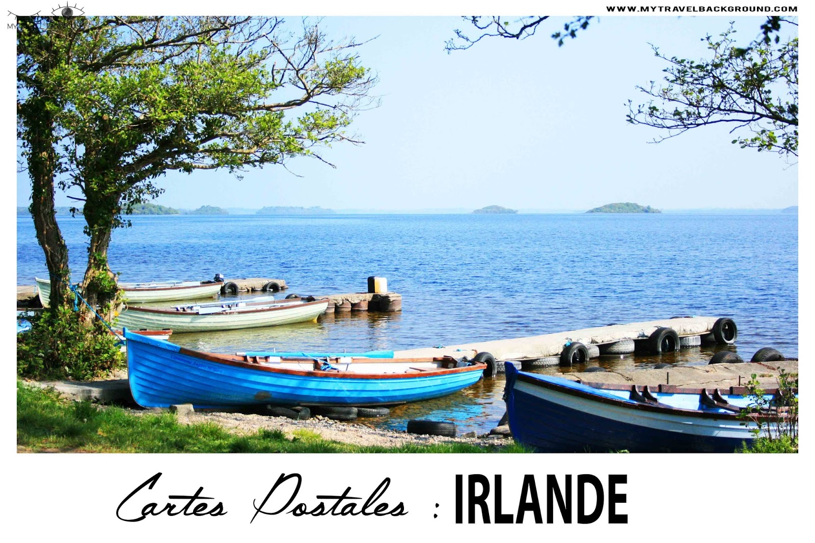 My Travel Background : Cartes Postale Irlande