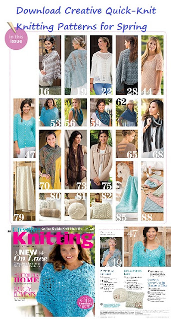 Download Creative Knitting Patterns for Spring