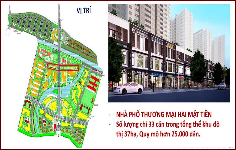 33 căn nhà phố thương mại khu căn hộ Mizuki Park