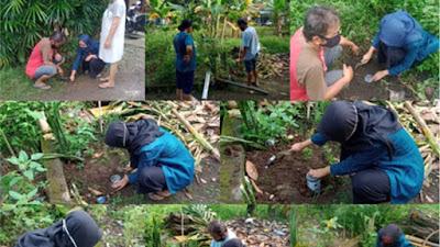 Musim Hujan Tiba!!! Mahasiswa Undip Membuat Biopori untuk Mengurangi Genangan Air dan Sampah