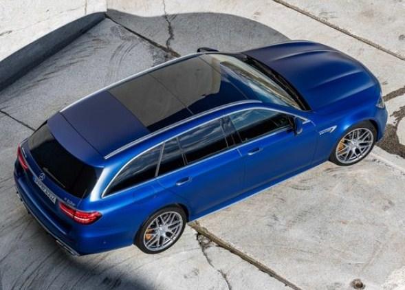 2021 mercedes e63 s wagon top view