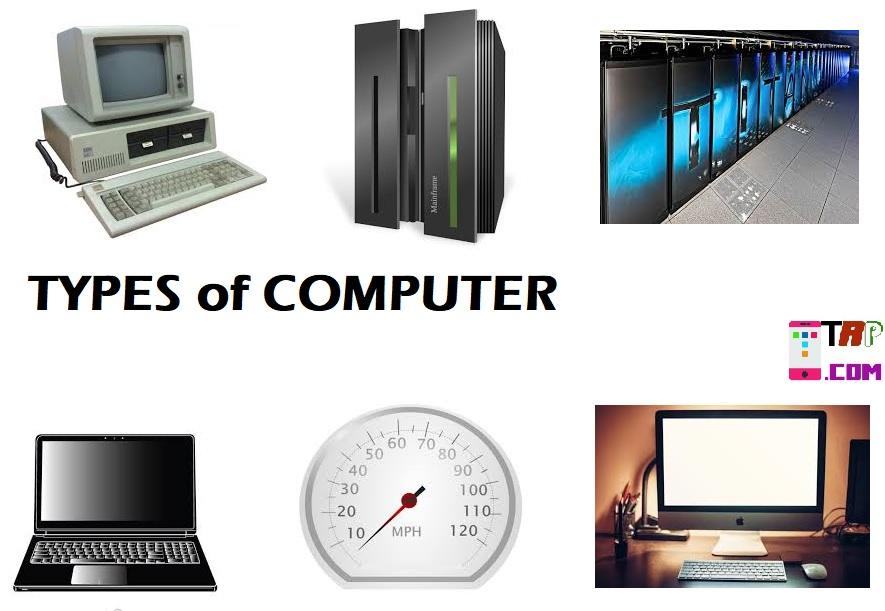 Types of Computer in Hindi. कंप्यूटर के प्रकार हिंदी में