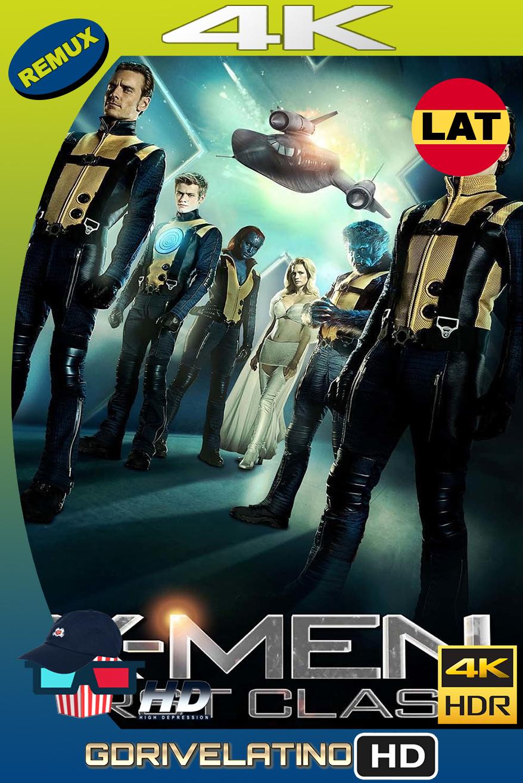 X-Men Primera Generación (2011) BDRemux 4K HDR Latino-Ingles MKV
