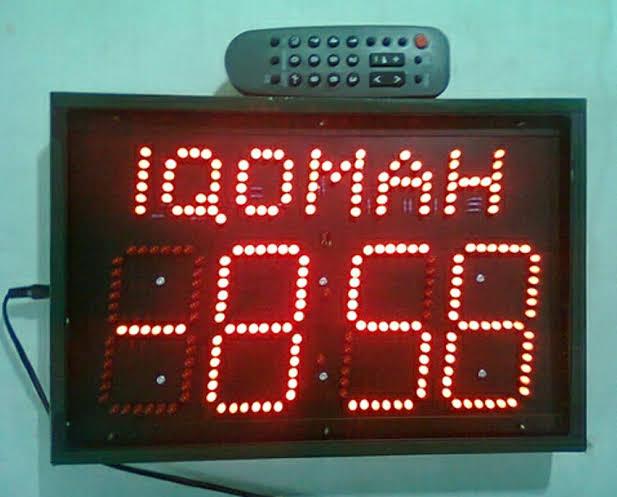 Hukum Timer Waktu Adzan dan Iqomah