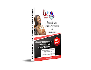 Unical GSS past questions PDF download