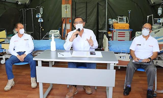 Martín Vizcarra: Centro Médico Naval hará respiradores artificiales para casos graves de Covid-19