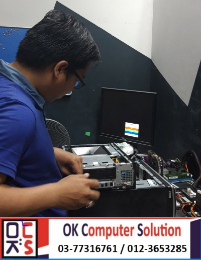 [SOLVED] NO DISPLAY DELL INSPIRON | KEDAI REPAIR LAPTOP DAMANSARA 3