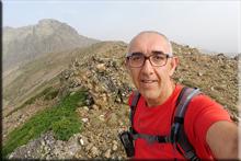 Alto de las Huelgas mendiaren gailurra 2.221 m. - 2018ko abuztuaren 9an