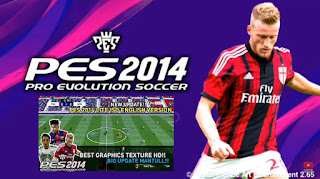 Download PES 2014 PPSSPP English Version Grass HD All Stadium New Textures & Savedata Update Best Graphics