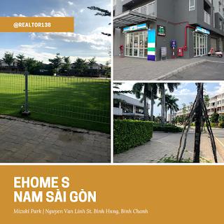 Shophouse Ehome S Nam Sài Gòn BLOCK A khu đô thị Mizuki Park