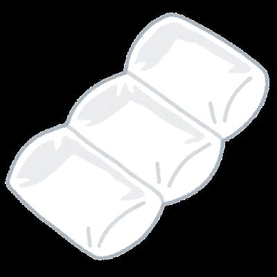 エアー緩衝材のイラスト