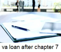 va loan after chapter 7