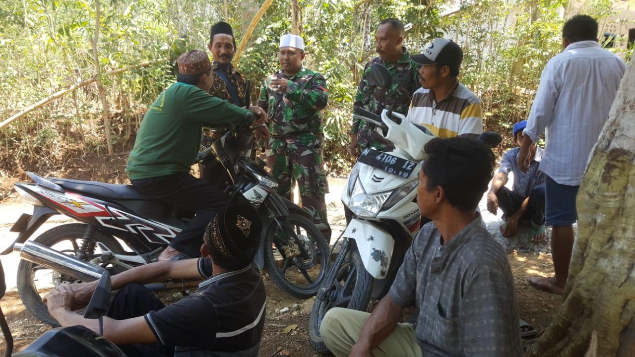 Siraman Rohani dari Tim Pembinaan Mental (Bintal) TMMD ke 106 Kodim 0818 Malang