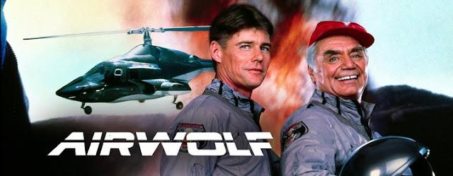 Falando em Série: AGUIA DE FOGO (Airwolf) 1984