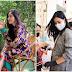 Phát sốt trước hình ảnh cô gái trẻ đeo khẩu trang tiếp sức mùa dịch