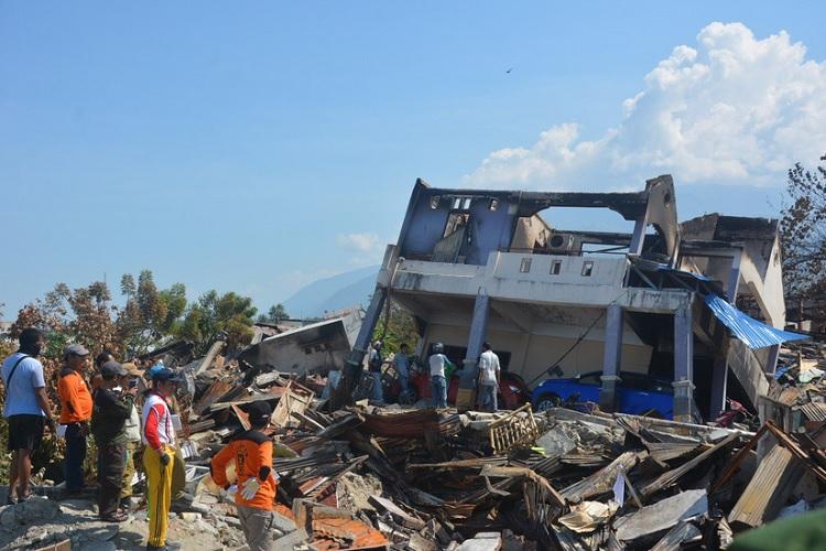 Relawan PKS di Palu