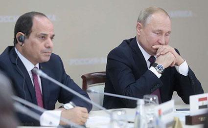 سد النهضة ، روسيا ، السيسى