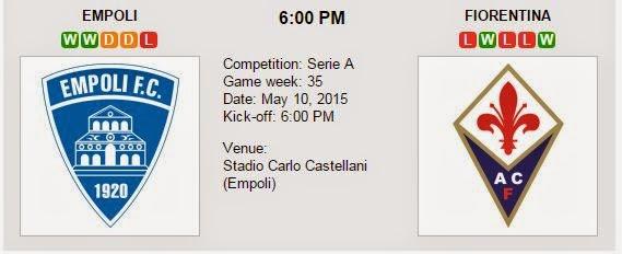 Akhir Empoli Vs Fiorentina Prediksi Malam Ini Empoli Vs Fiorentina