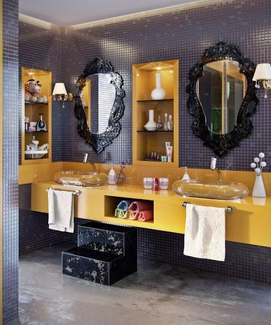 Compartmented Bathroom Design