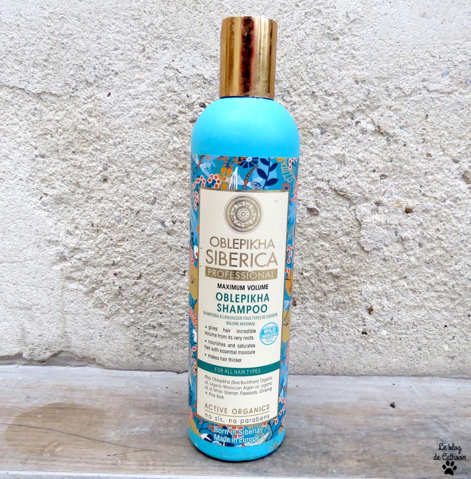 Oblepikha Shampoo Maximum Volume