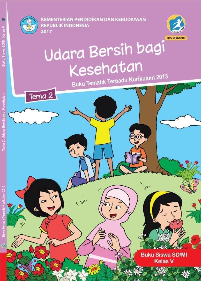 Buku Siswa Tematik SD Kelas V Tema 2 Udara Bersih dan Kesehatan