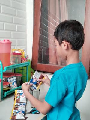 Indomilk Susu Bubuk untuk anak tinggi, tangguh, tanggap