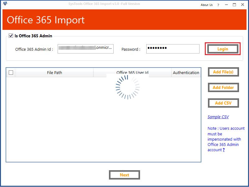 login office365