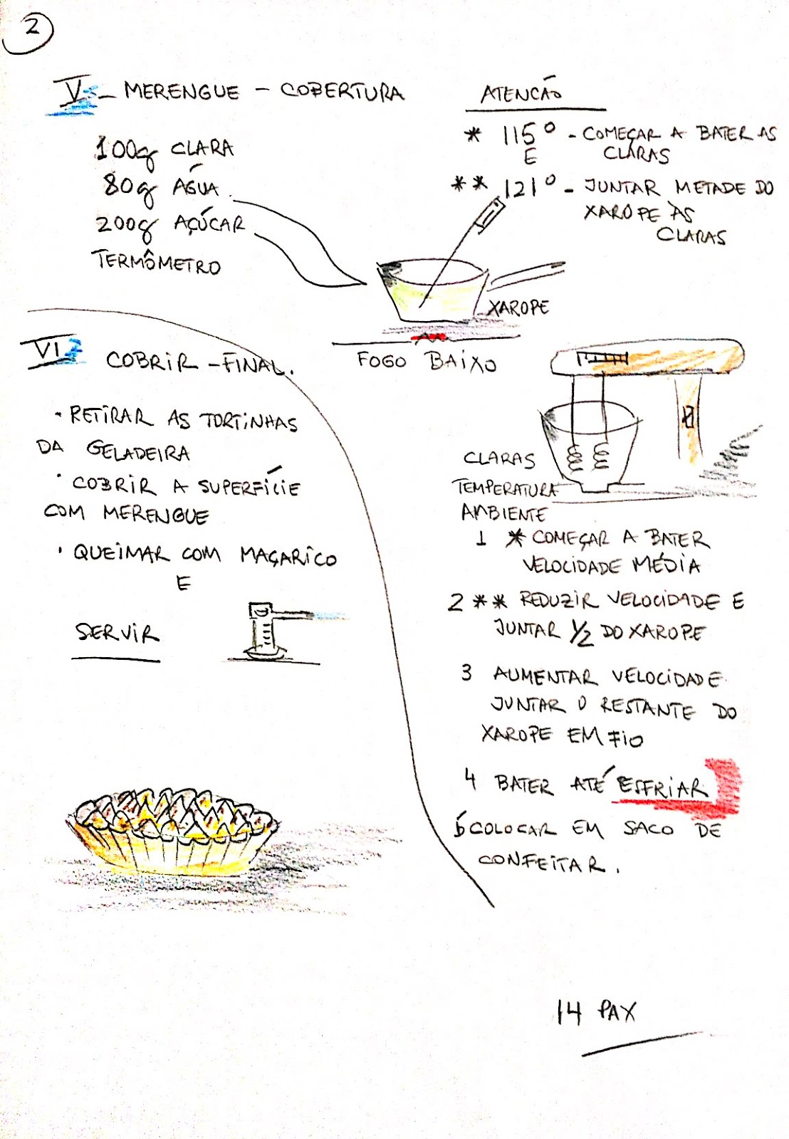 cozinha ousada mini tortas de limão curd e merengue