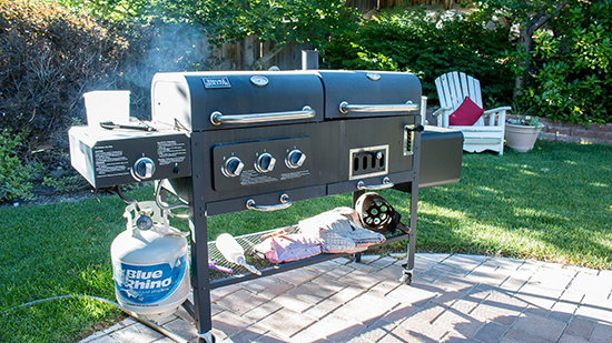 Space for a grill