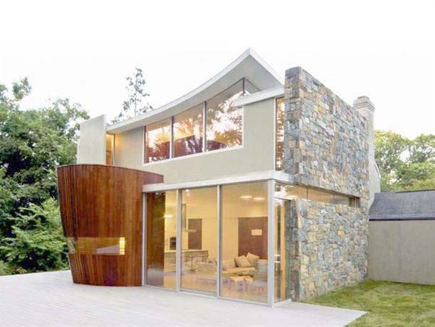 48 Foto Desain Rumah Modern Minimalis Unik Terbaru Unduh