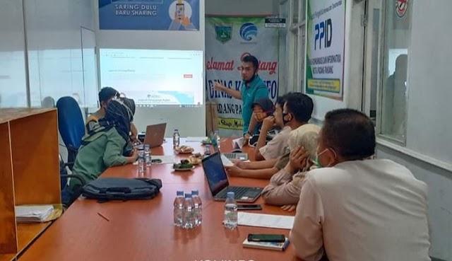 Dinas Kominfo Lakukan Pembinaan Admin PPID Pembantu, Untuk Keterbukaan Informasi Publik