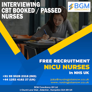 URGENTLY REQUIRED NICU NURSES TO NHS HOSPITAL IN UK - FREE RECRUITMENT