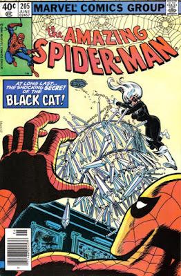 Amazing Spider-Man #205, the Black Cat