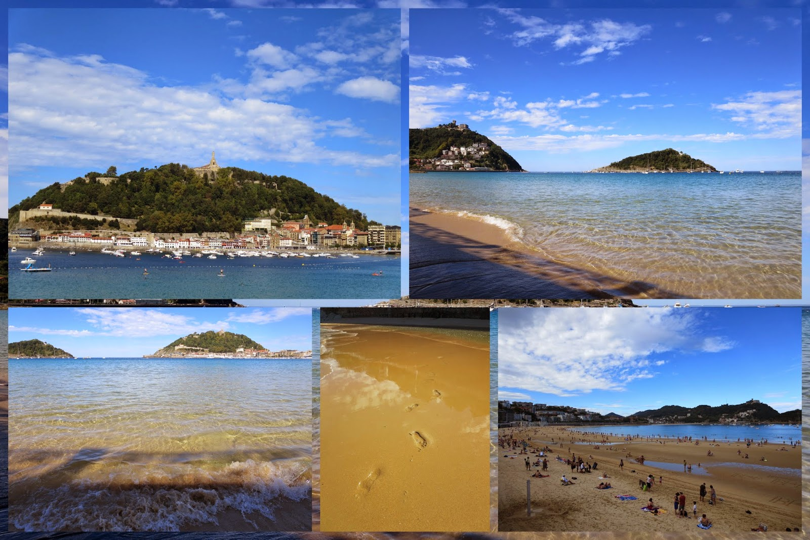 Beach at San Sebastian