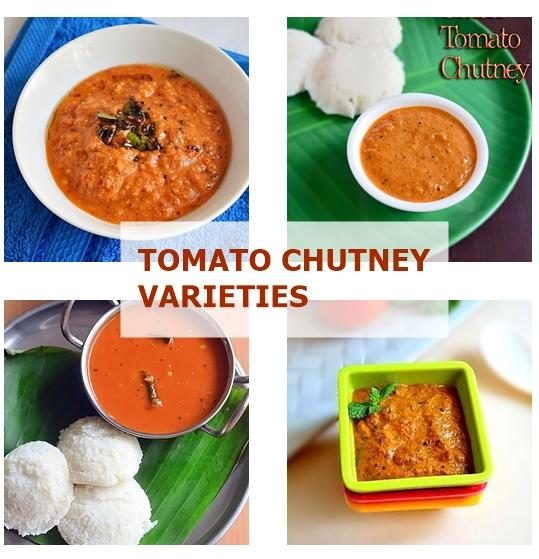 Tomato chutney varieties