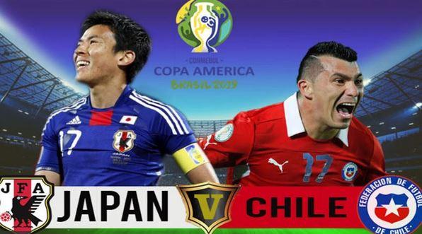كوكب اليابان يواجه تشيلي موعد مباراة اليابان وتشيلي اليوم الثلاثاء 17-6-2019 كوبا اميركا 2019