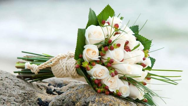 bó hoa hồng trắng đẹp nhất 2017 3