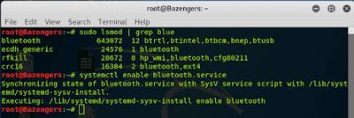 mengaktifkan bluetooth pada kali linux