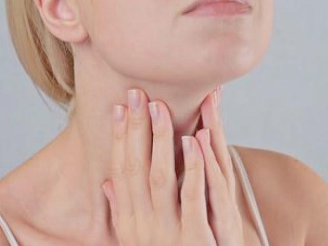 الغدة الدرقية- اعراض فرط نشاط الغدة الدرقية