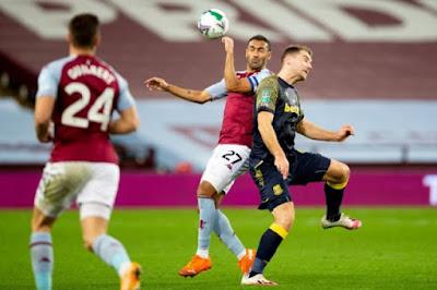 ملخص واهداف مباراة استون فيلا وليستر سيتي (1-0) في الدوري الإنجليزي