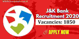 JK BANK JOBS